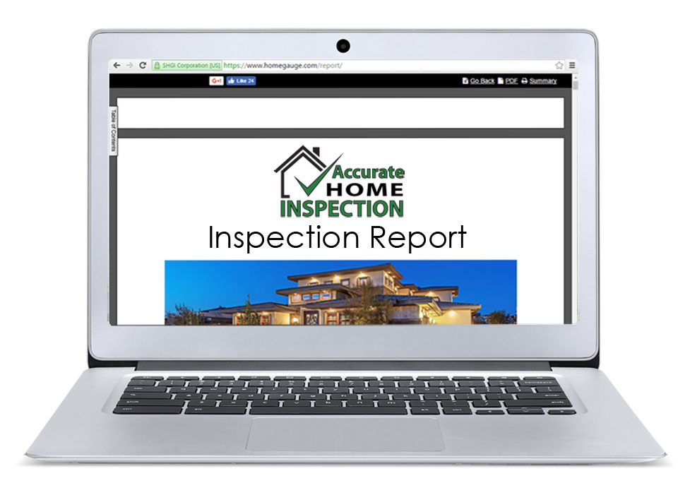 quality home inspection report